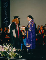Maria becoming an Honorary Professor